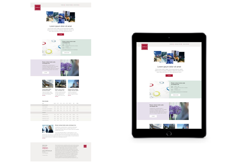 Catella Email Design | APSIS Blog