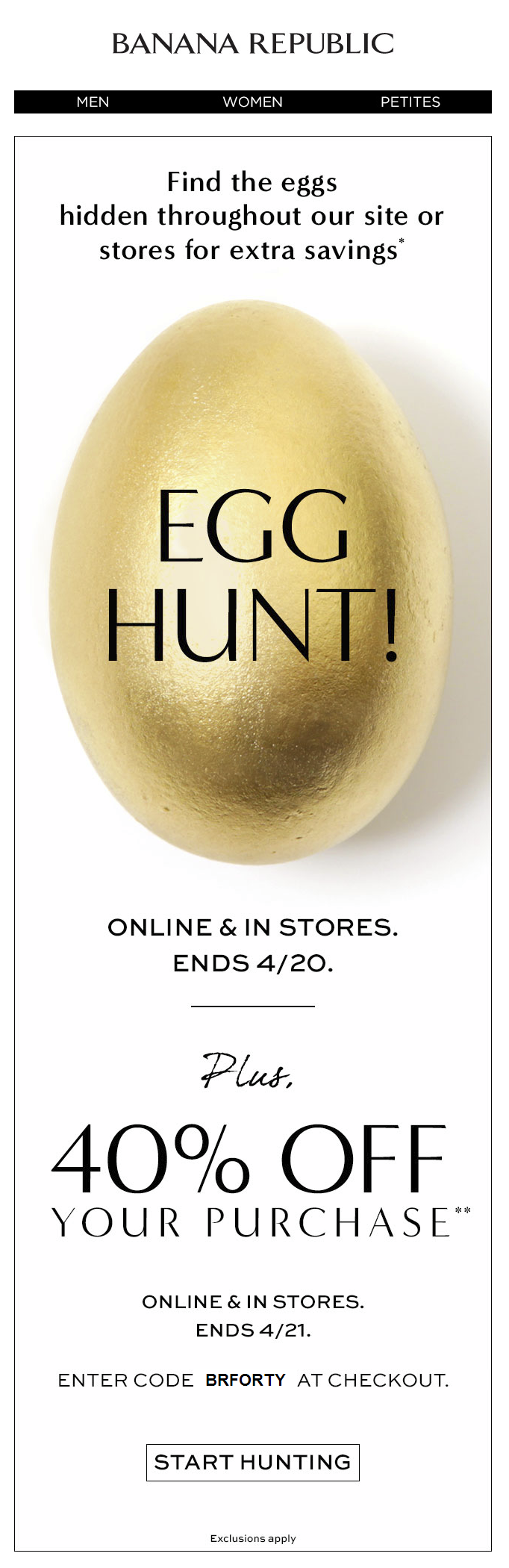 Easter Email Design: Have fun with it! APSIS Blog