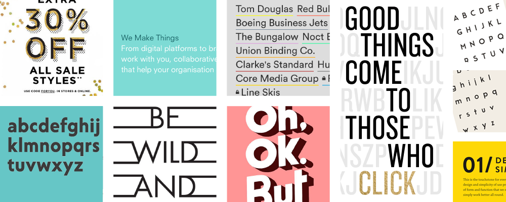 APSIS Email Design 2016: typography