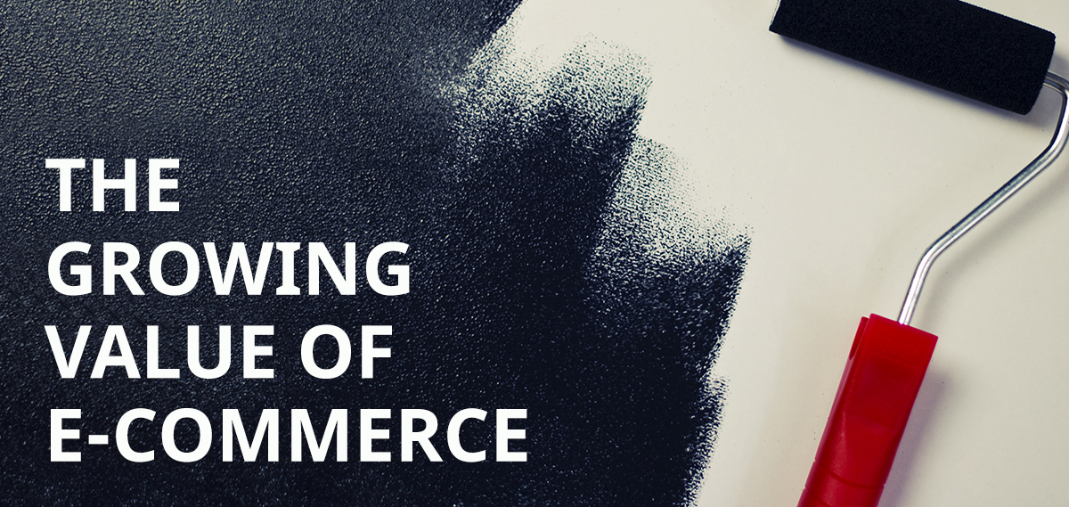 The growing value of e-commerce: main image