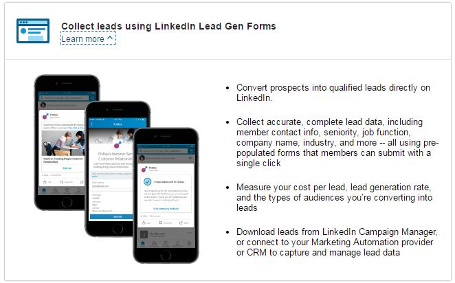 LinkedIn Lead Gen Forms - The latest LinkedIn feature