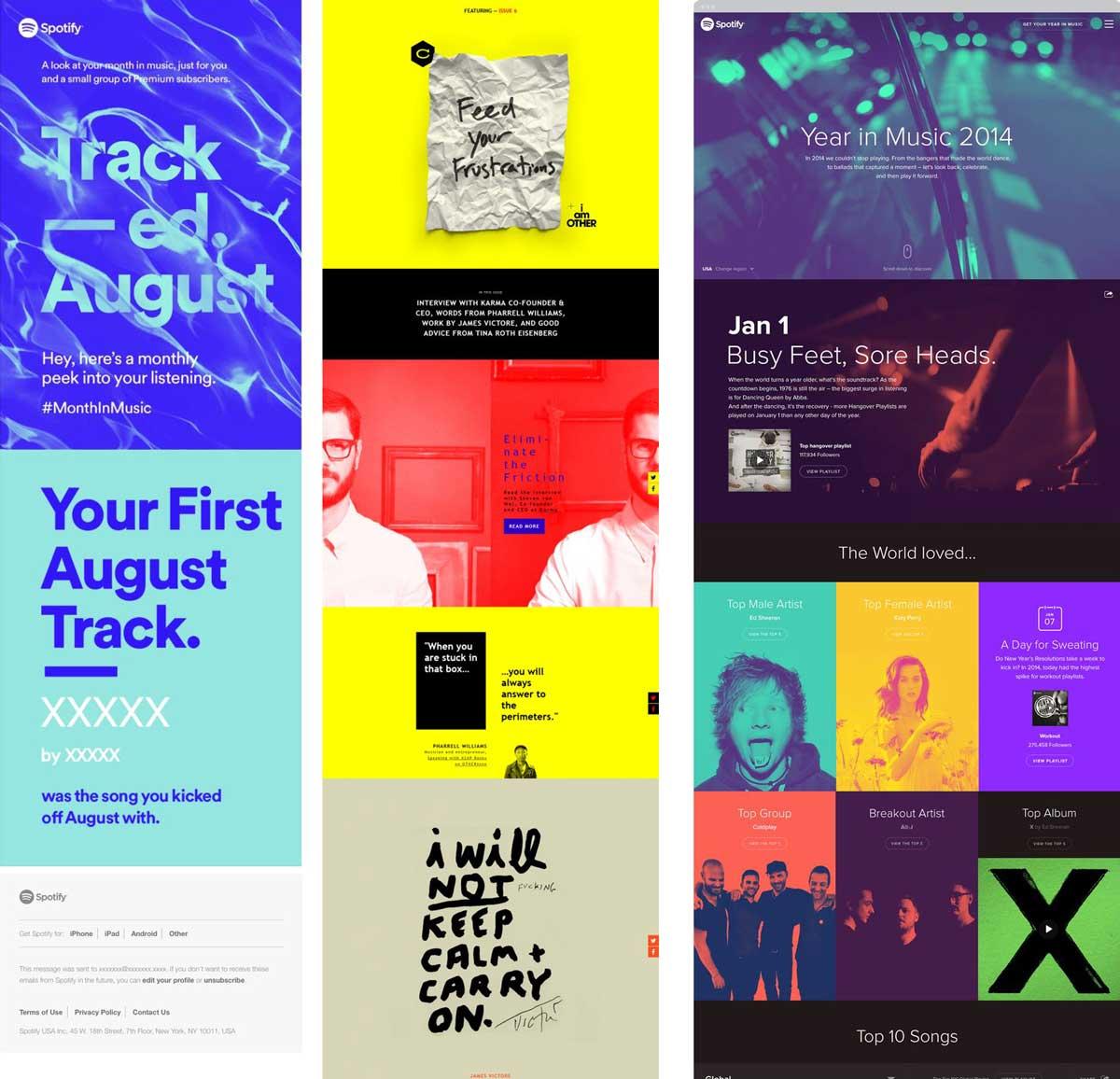Colour Blocking & Email Design | APSIS Blog